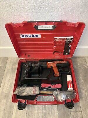 Hilti Dx351 Powder Actuated Tool Nail Gun Fastener Kit With Magazine Xtra Driver