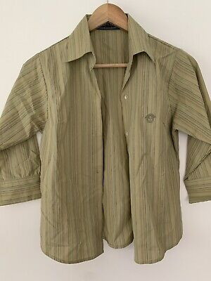 Versace Jeans Couture Girls Shirt Vintage Size M Age 12-14