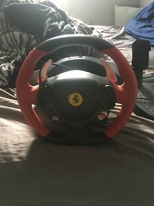 Ferrari Spyder racing wheel