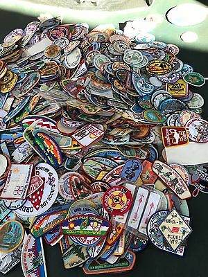 Lot of 2800+ Vintage BSA Patches and Philippines Insignia And Badge Chart