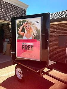 """""""Trailer Mobile Billboard Advertising Outdoor Sign Promotional"""" Officer Cardinia Area Preview"""