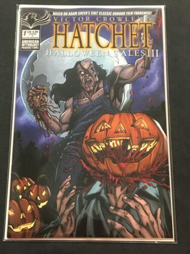 Hatchet #1 Halloween Tales III C Cover American Mythology 2021 VF/NM Comics Book