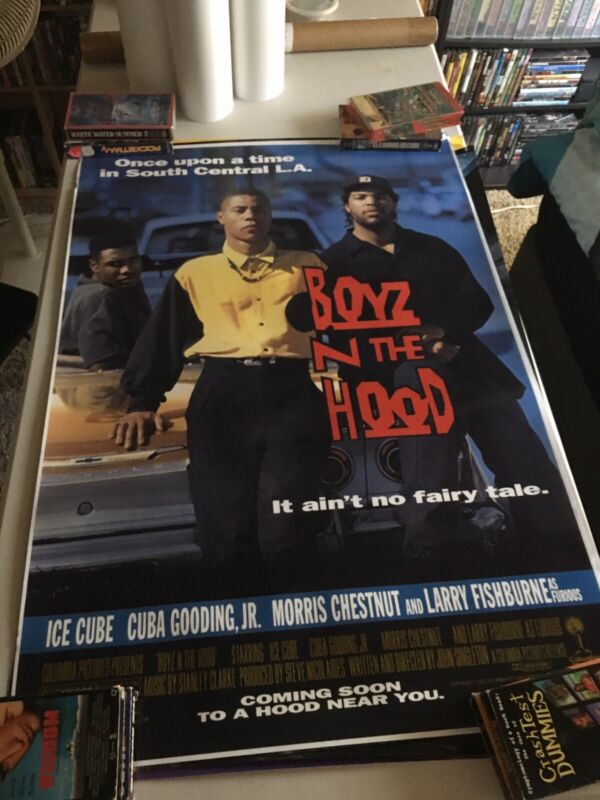 Boyz N The Hood 27x40 One Sheet Movie Poster Reproduction