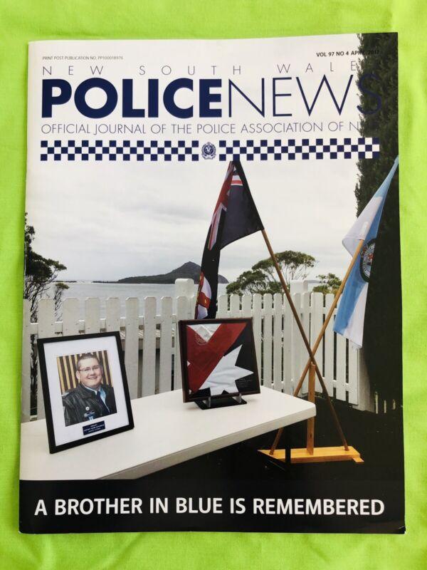 New South Wales Police News: PANSW Magazine. April 2017: Vol. 97. No 4.