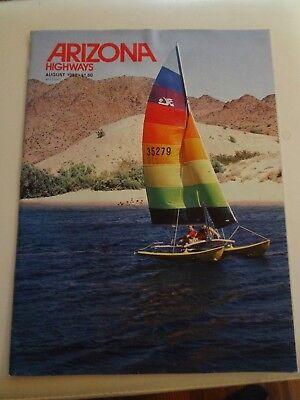 Arizona Highways, August 1982, Volume 58 No.8