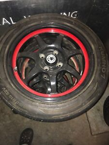 4 bolt konig rims 15 inch with good tires