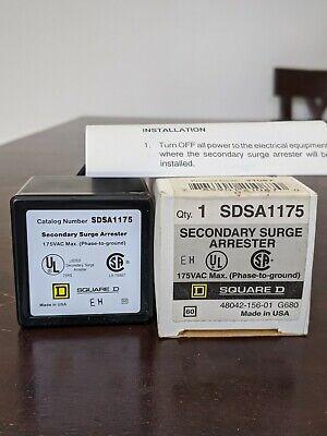 Square D Secondary Surge Arrester Sdsa1175 Brand New In Box Sdsa 1175