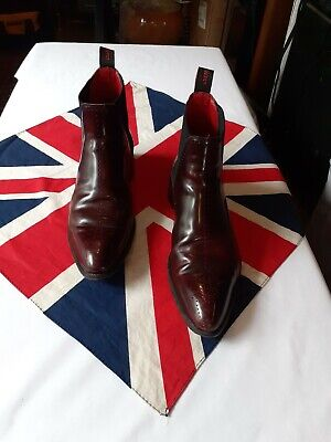 Jeffery west Leather boots size 8 Used ox blood