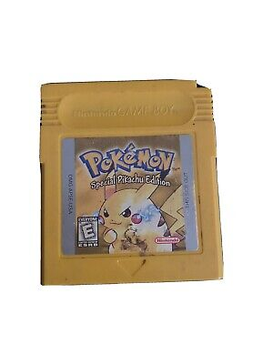 Pokemon Yellow Version NEW SAVE BATTERY Pikachu Edition Game Boy AUTHENTIC OEM
