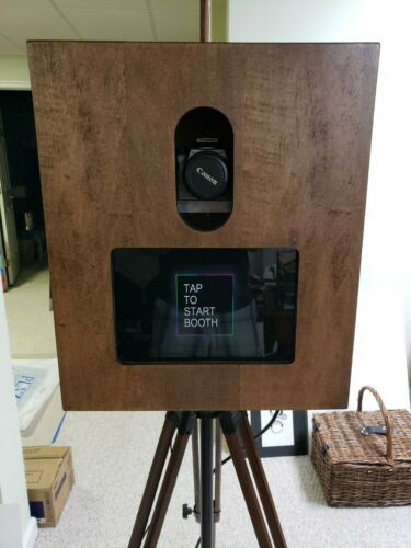 Custom Photobooth Shell for Surface Pro and dslr camera Vintage Style