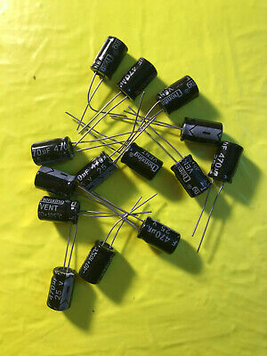 2/5/10/20/50/100 Piece 470uF 25V 105C Radial Electrolytic Capacitor 8x12mm 25v Radial Electrolytic Capacitor