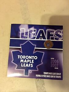 Toronto maple leafs coin set royal Canadian mint