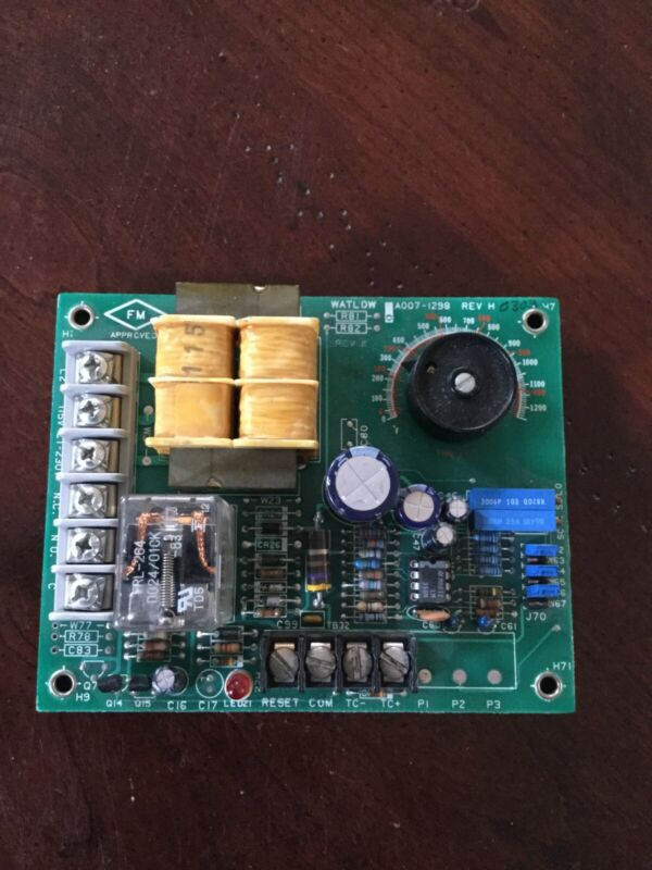 Watlow 140A-1603-3000 Temperature Limit Controller Tested
