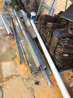 Used steel beams/lintels