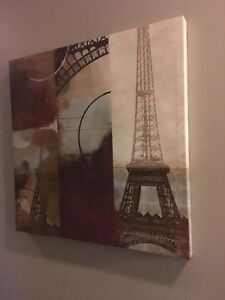 Canvas art Paris Eiffel tower