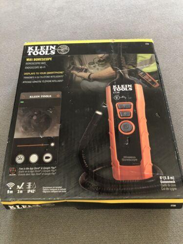 Klein Tools ET20 WiFi Borescope Brand New