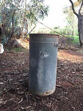 Galvanised rubbish/feed bin - 1m tall York York Area Preview