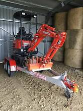 MINI EXCAVATOR FOR DRY HIRE KUBOTA 1.7 T  $250.00 inc GST A DAY Berwick Casey Area Preview