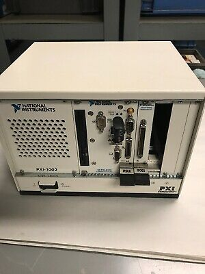 National Instruments Pxi-1002 Compact Pci With Ni Pxi-8175 And Pxi-6052e