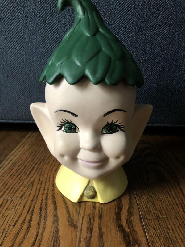 Vintage Cookie Jar Elf