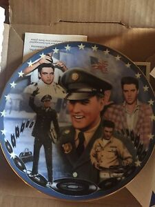 Elvis Collectible Musical Plates