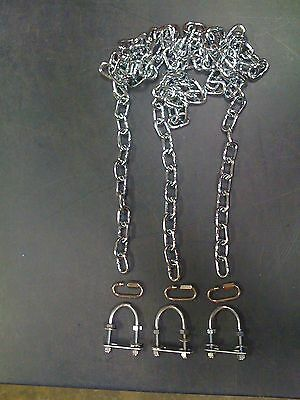 Swingset tire swing chains,playset tire swivel kit,playground, U bolts,zp 66