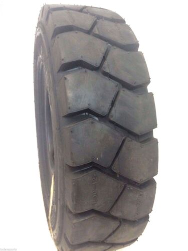 TWO new 7.00-12 FORKLIFT TIRE With Tubes, Flap Grip Plus Heavy duty 700-12