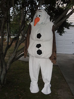Olaf Costume For Kids (Disney Store  Olaf Plush Costume for Kids Frozen NEW SIZE 3)