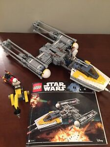 LEGO Star Wars #75172, Y-Wing Star Fighter - complete set