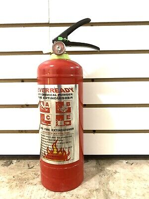 Fire Extinguisher 2kg Rechargeble Emergency Home Car Auto Garage Safety