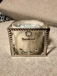 Bath & Body Works 3 wick candle holder nautical decor