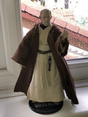 "Sideshow Star Wars Order Of The Jedi Obi Wan Kenobi 1/6 Scale 12"" Figure"