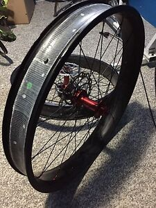 Carbon fat bike wheelset