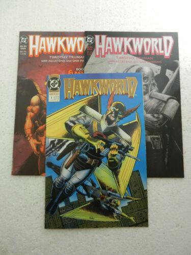 Hawkworld #1 Hawkworld Book One & Two VF 8.0 Hawkman DC Comics