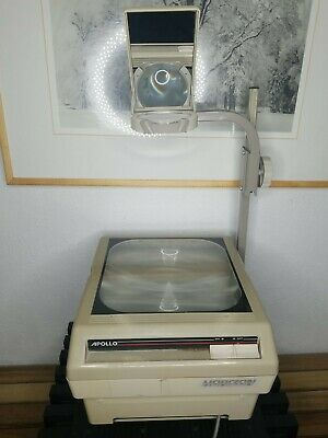 Vintage Apollo Horizon 15000 Series Overhead Projector Good Working Condition