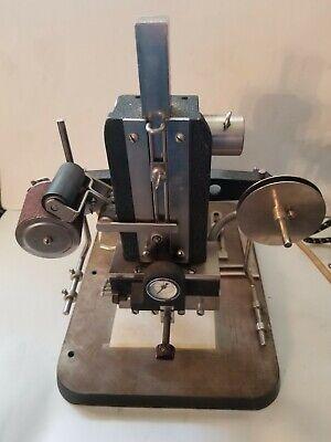 Vintage Wyman Model B Gold Stamper Hot Foil Stamping Embossing Machine