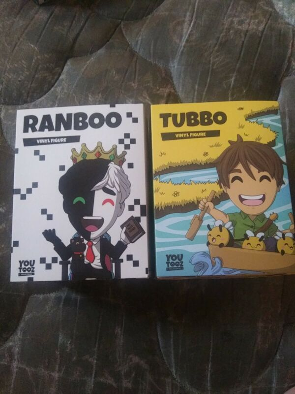 Ranboo and Tubbo Dream Smp Youtooz Bundle (UNSCRATCHED CODES)
