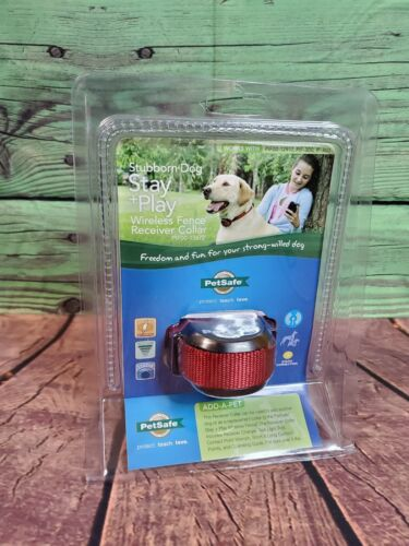 *NEW* PetSafe Stay+Play Wireless Stubborn Dog Fence Collar