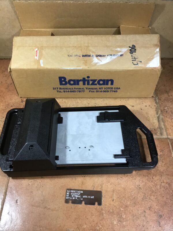 Vtg Bartizan ChargeMate 2000 Manual Credit Card Imprint Machine Slider NeverUsed