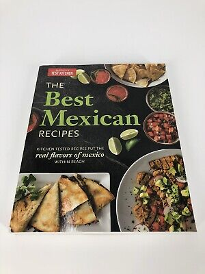 The Best Mexican Recipes - America's Test Kitchen (Paperback, Brand New)