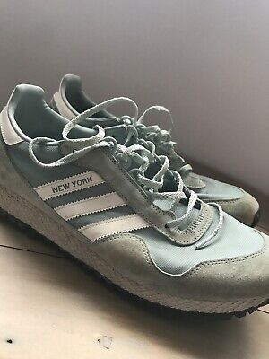 Adidas New York Green Vintage Retro Casual UK 10.5 BB1190