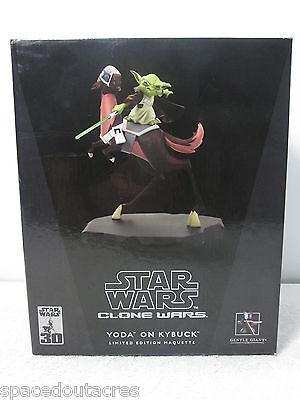 Star Wars Clone Wars Yoda on Kybuck Maquette Limited - Gentle Giant 2798/3500 FS
