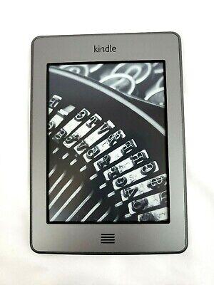 Amazon Kindle Touch Gray 4th Generation Model D01200 Wi-Fi Tested Works na sprzedaż  Wysyłka do Poland