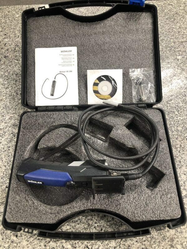 Wohler VE200 Video Endoscope a-x