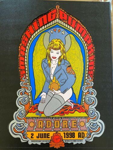 Smashing Pumpkins Rare Firehouse Chuck Sperry Poster