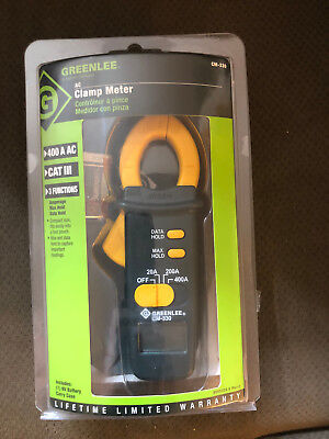 Greenlee Clamp Meter Cm-330