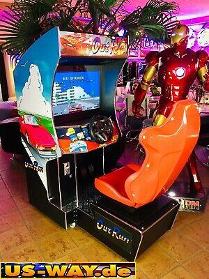CRG1 Classic Arcade Racing TV Video Spielautomat Standgerät Race Fahrsimulator