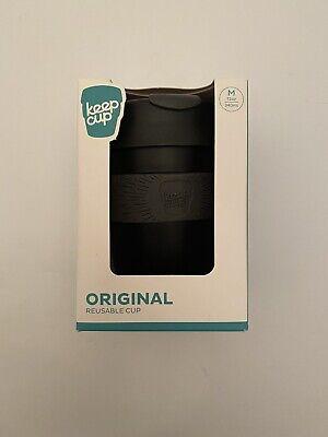 Keep Cup KeepCup Reusable Cup Black Medium 12oz 340ml New Box Gift Present