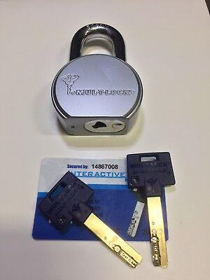 Mul-t-lock Padlock Tsr25 Keyway 206
