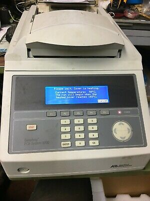 Applied Biosystems Geneamp Pcr System 9700 Dual 96 Well Block Tested